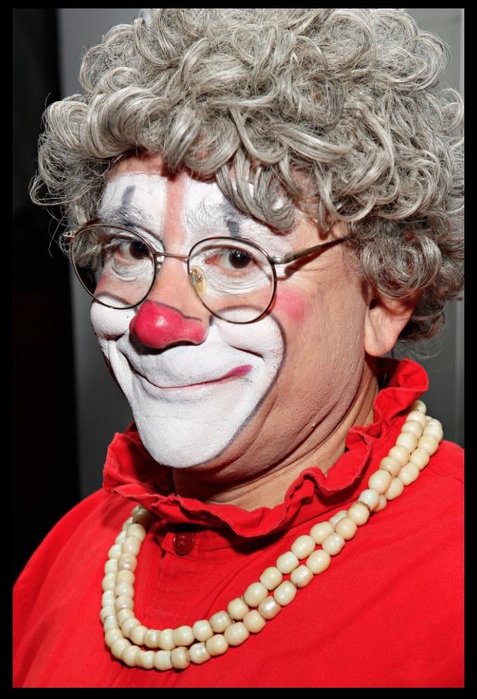 Barry Lubin as Grandma The Clown