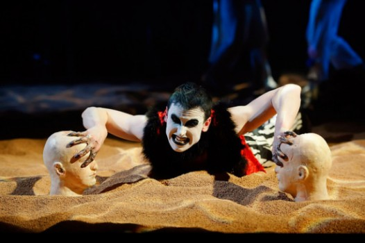 Synetic Theatre in DC– a silent King Lear (through April 24)