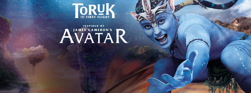 Photo of performer from Toruk