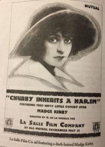 Chubby Inherits a Harem advertisement from Slapstick Divas