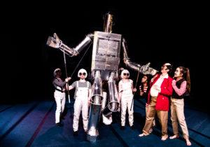 Giant Robot at the SciFi Cartoon Circus