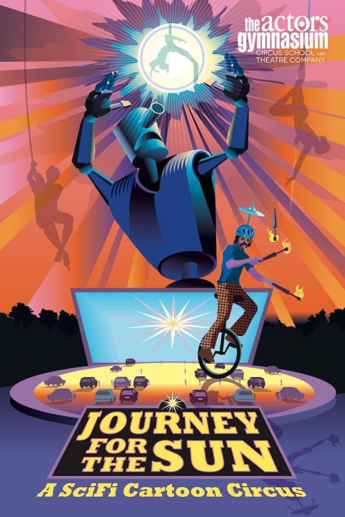 Journey For The Sun A SciFi Cartoon Circus
